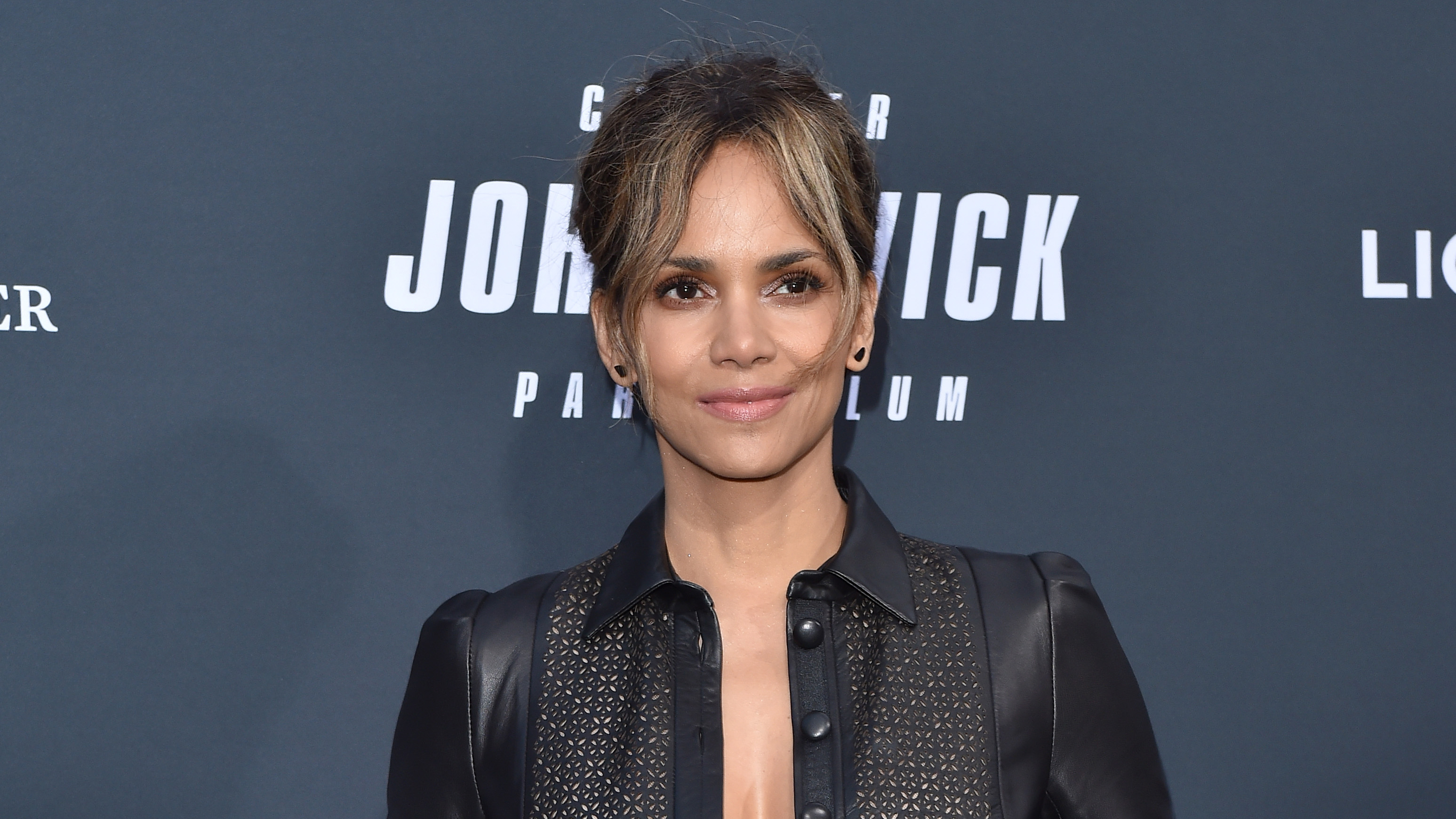 Halle Berry does an
