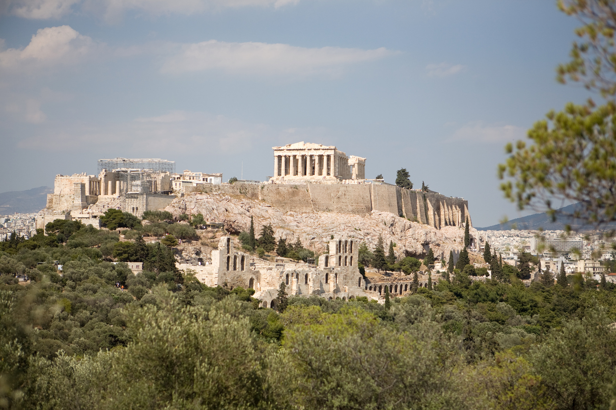 Travel blogger removed, arrested in Athens for allegedly 'breaching sexual decency' with dress