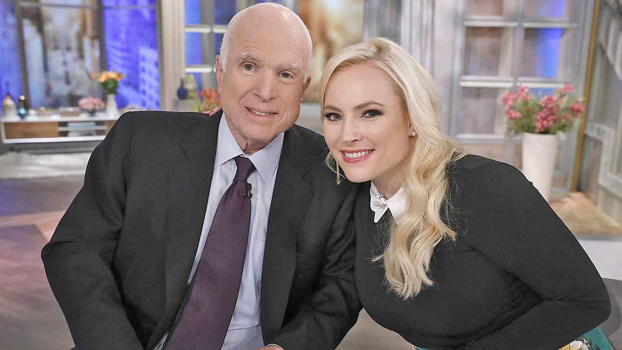 Meghan McCain marks one-year anniversary of father John McCain's death