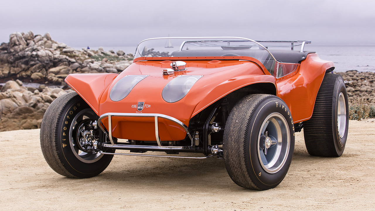 Steve McQueen's long-lost dune buggy from 'The Thomas Crown Affair' restored and up for sale