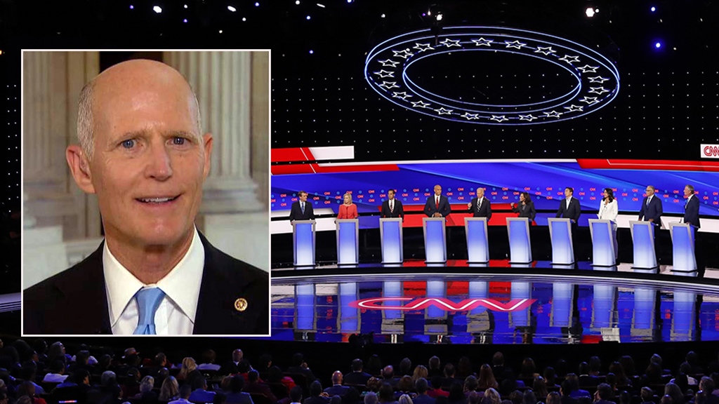 Westlake Legal Group rick-scott-debate-FOX-AP Rick Scott: Democratic debate strategy will alienate voters, help Trump win in 2020 Nick Givas fox-news/shows/americas-newsroom fox-news/politics/elections/democrats fox-news/politics/2020-presidential-election fox-news/media/fox-news-flash fox-news/media fox news fnc/media fnc article 1597c93c-5e99-5bc0-b29f-06b14fec32d2
