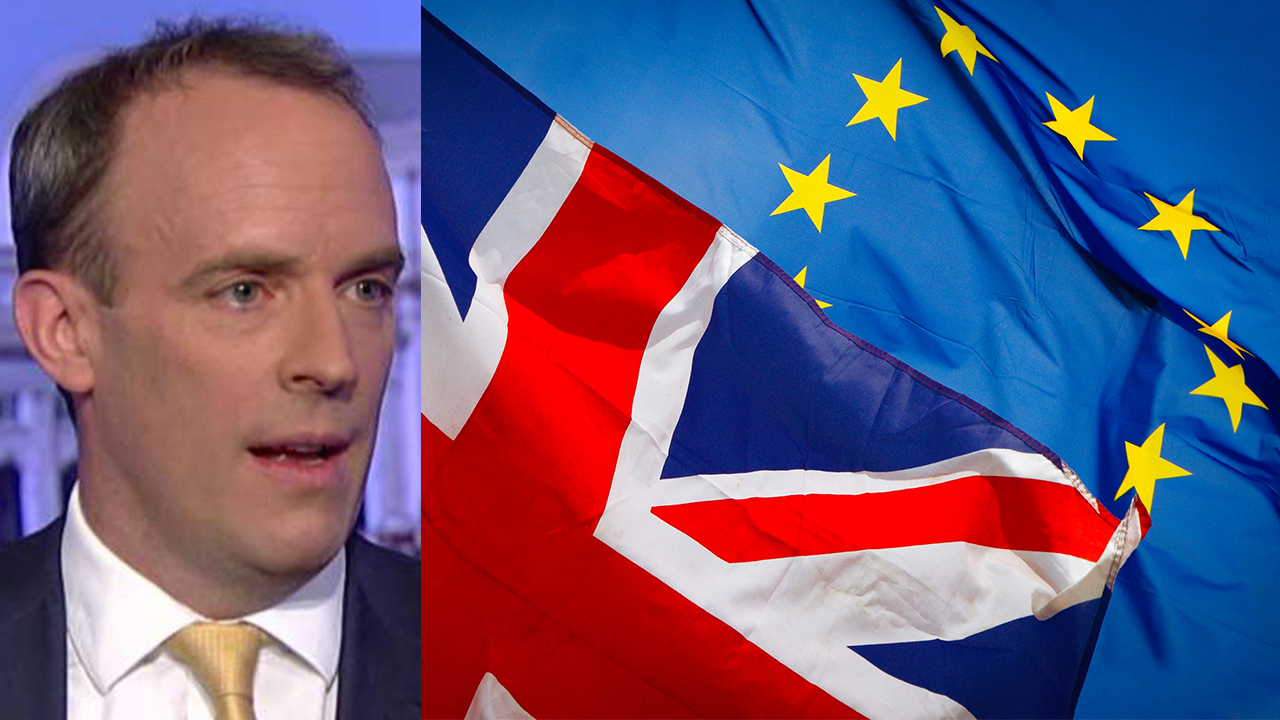 Westlake Legal Group secretary-british-eu British foreign secretary: England will leave EU without a deal if necessary, by October Nick Givas fox-news/world/world-regions/united-kingdom fox-news/topic/the-european-union fox-news/shows/special-report fox-news/media/fox-news-flash fox-news/media fox news fnc/media fnc fbbead45-47b2-5a4b-aa47-56926404c18d article