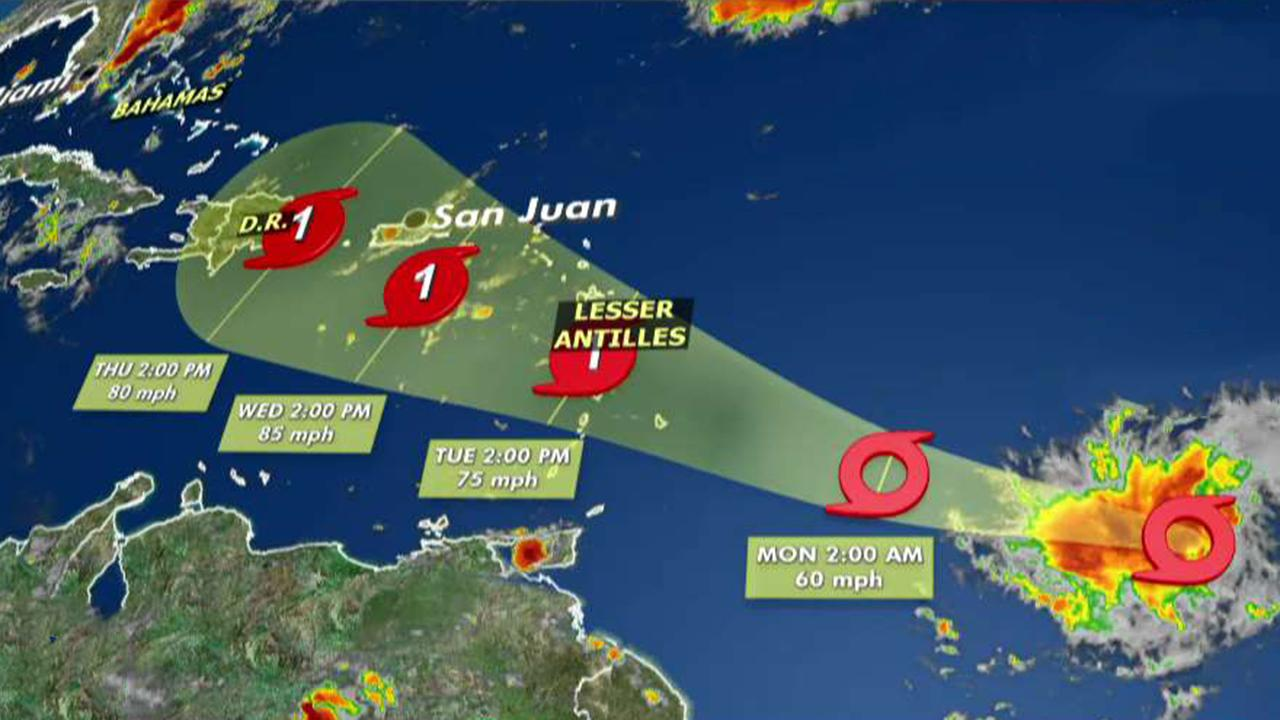 Westlake Legal Group tropical-storm-dorian Tropical Storm Dorian set to hit Puerto Rico, expected to blast Florida as Category 2 hurricane fox-news/us/us-regions/southeast/florida fox-news/us/disasters/hurricanes-typhoons fox news fnc/us fnc Danielle Wallace article 7ade94ce-99f2-5f8c-b4d0-9fd917f20906