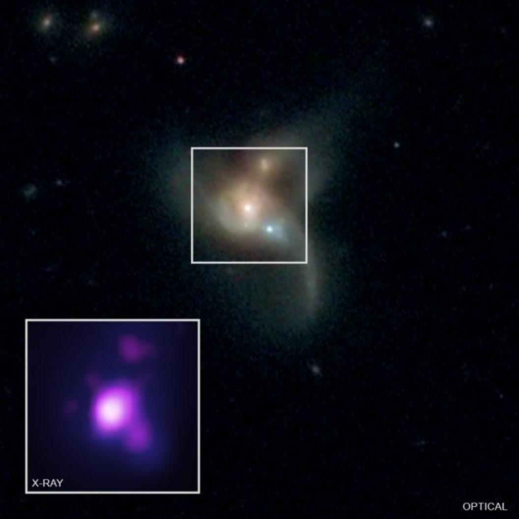 3モンスターブラックホールに衝突