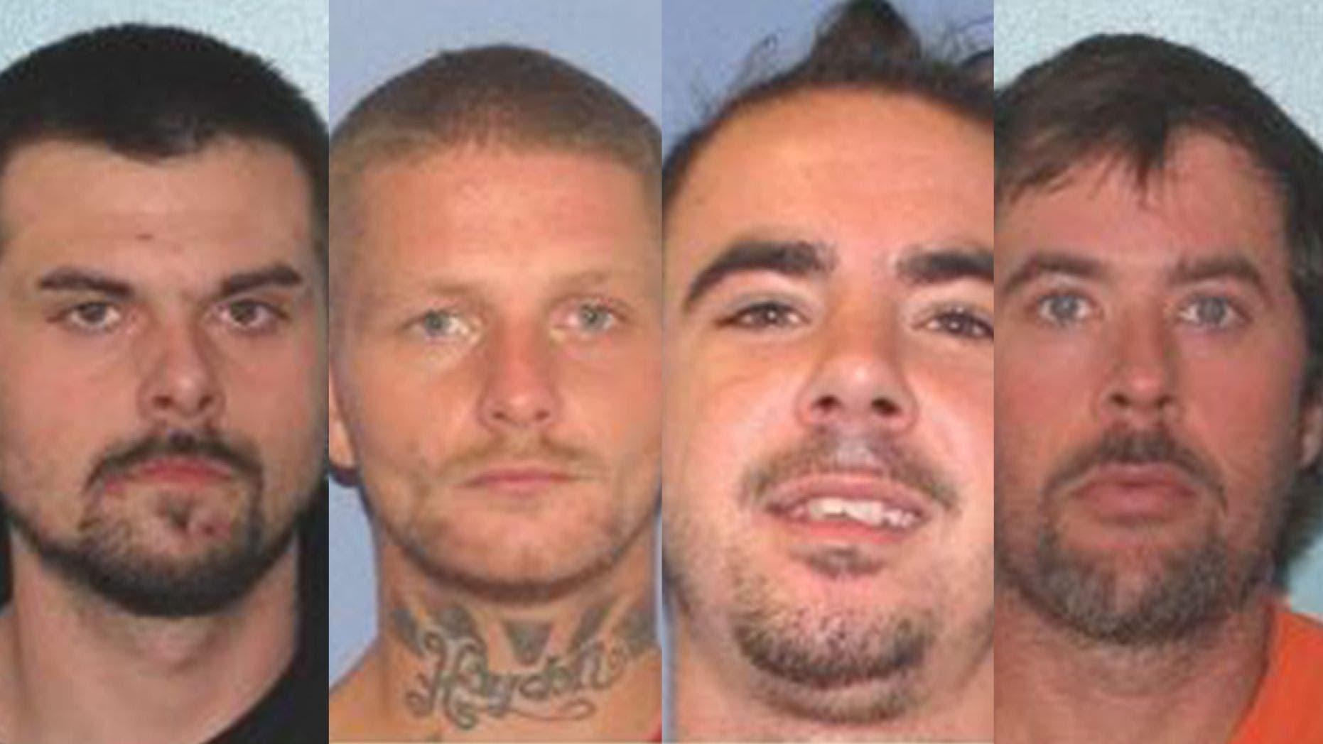 3-4人逃れたオハイオ州刑務所に捕獲されたノースカロライナ州報告書によると
