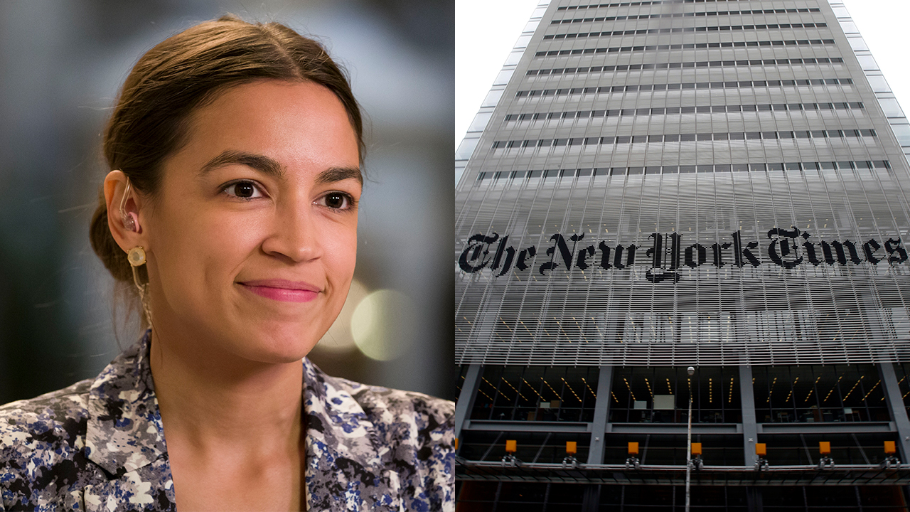 AOC hits New York Times' 'condescension' toward her, suggests paper is trying to 'gaslight' the left