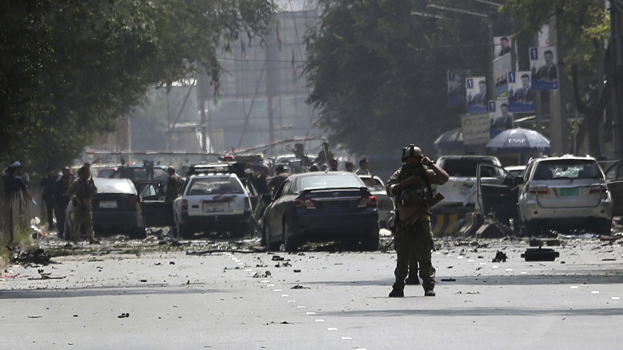 Taliban car bombing rocks Afghan capital near US Embassy; at least 3 dead, 30 wounded