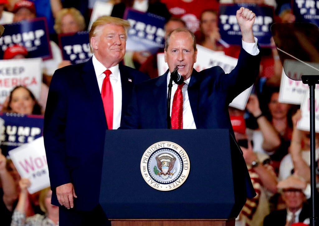 Trump rally helped swing North Carolina race for Dan Bishop, RNC says