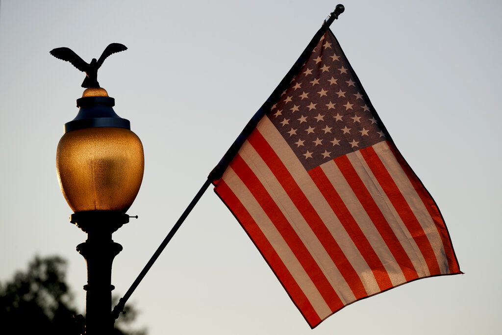 51-star American flags line Pennsylvania Avenue as Washington, D.C. seeks statehood