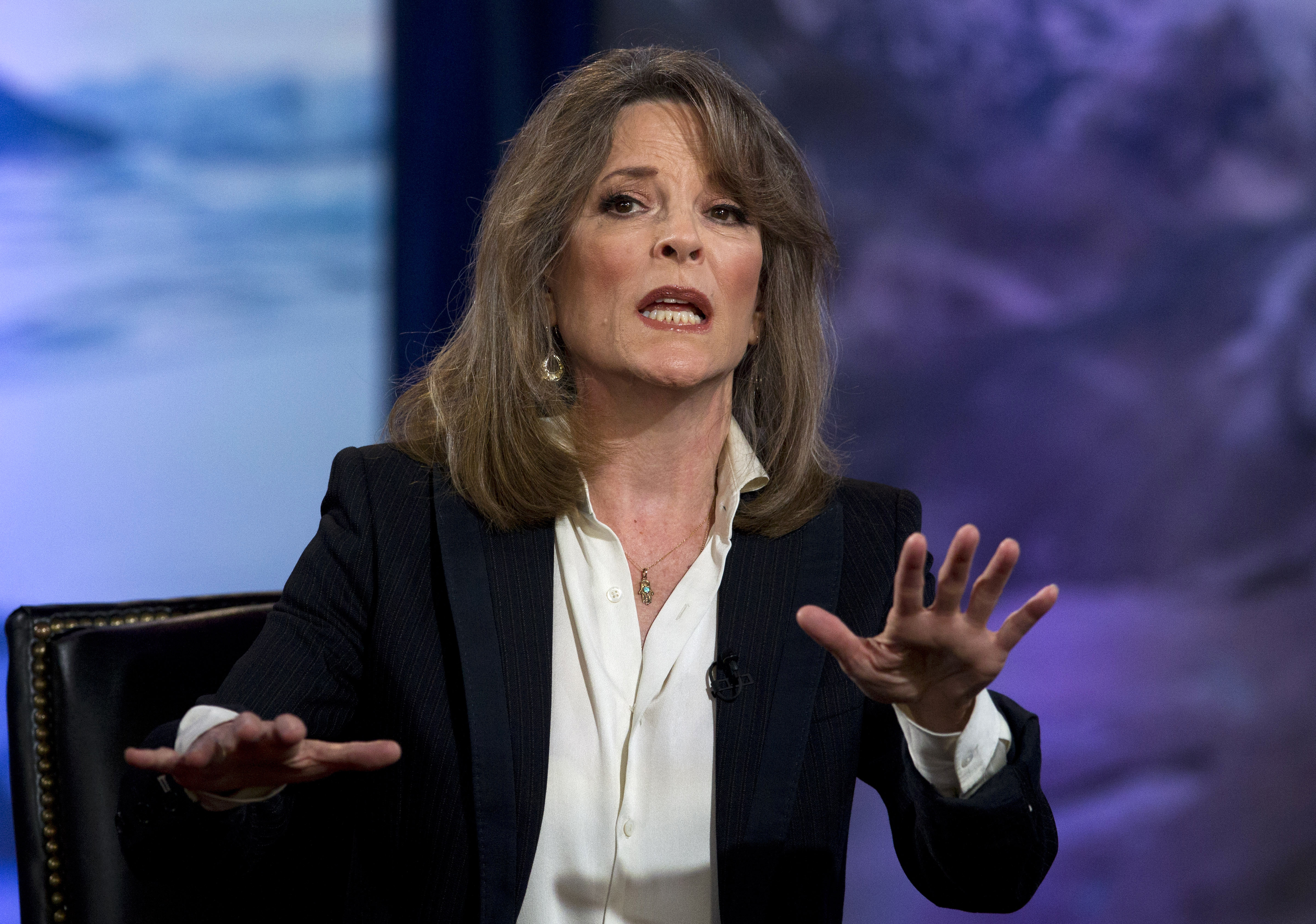 Marianne Williamson isn't dropping campaign after rivals' lackluster debate and show of 'faux democracy'