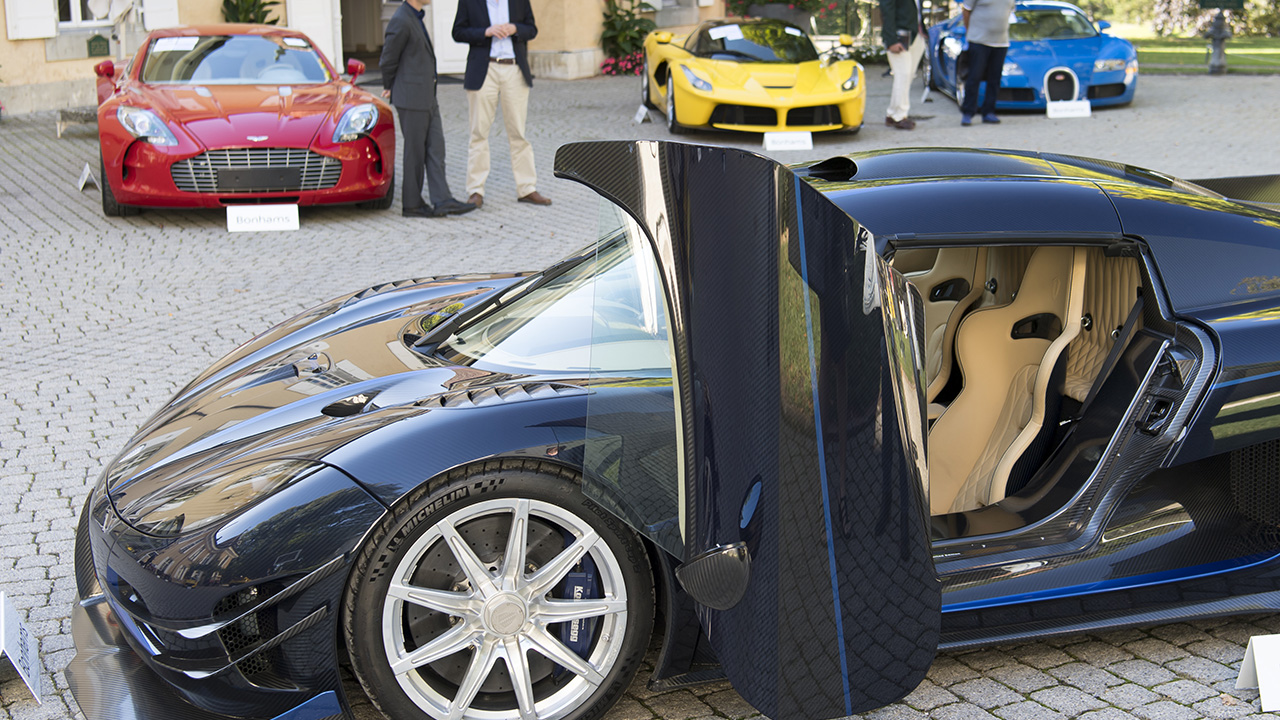 Politician's exotic cars seized in corruption probe auctioned for $27 million