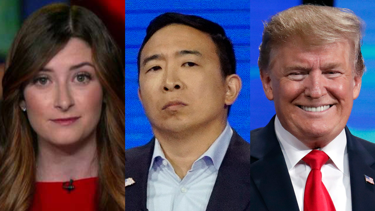Trump weighs in after writer's Andrew Yang tweet