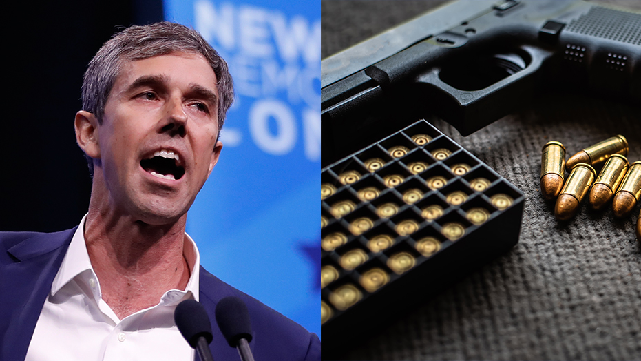 Woman confronts Beto on gun confiscation at town hall: 'I'm here to say, hell no you're not'