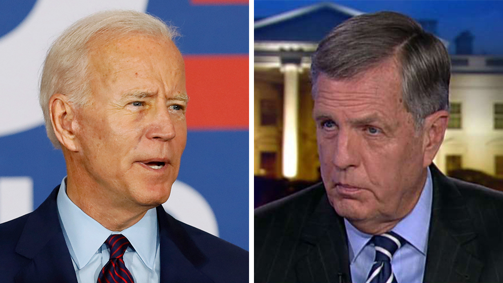 Brit Hume: Biden may see 2020 hopes as 'culmination of his career'