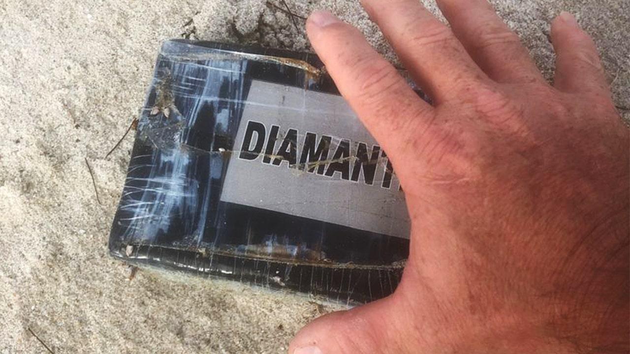 Hurricane Dorian waves wash cocaine brick up on Florida beach, police say