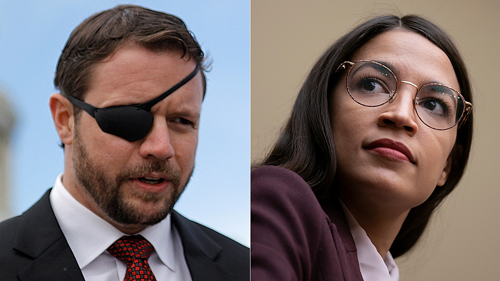 Westlake Legal Group Dan-Crenshaw-Ocasio-Cortez-AP AOC's gun rights feud with GOP Rep. Crenshaw proves 'fact-challenged' in 'Fox & Friends' segment fox-news/us/personal-freedoms/second-amendment fox-news/shows/fox-friends fox-news/person/alexandria-ocasio-cortez fox-news/media/fox-news-flash fox news fnc/media fnc David Montanaro be0e1e4a-f20e-543e-9c0c-0361dd7631c0 article