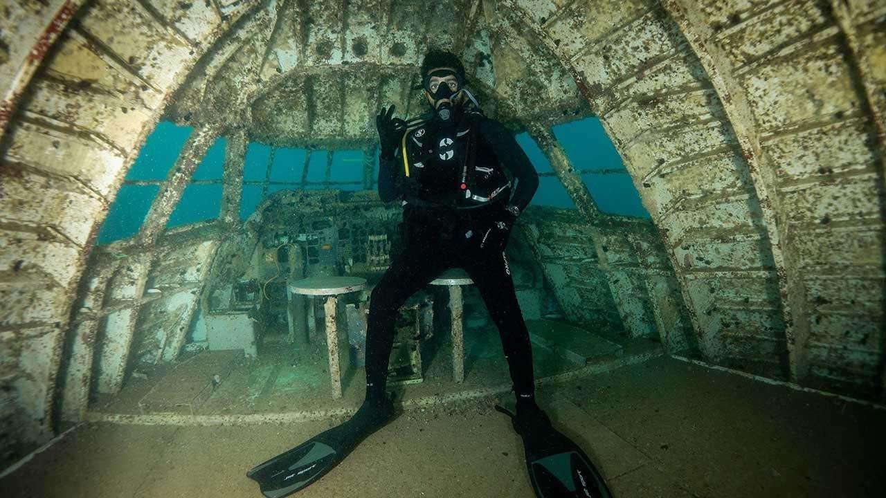 'Terbesar di dunia underwater theme park' terbuka di Bahrain, fitur cekung Boeing 747