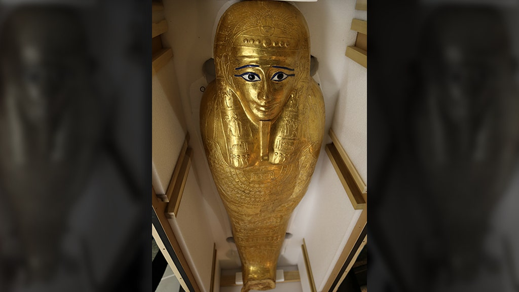 $4M gold coffin repatriated to Egypt from New York City