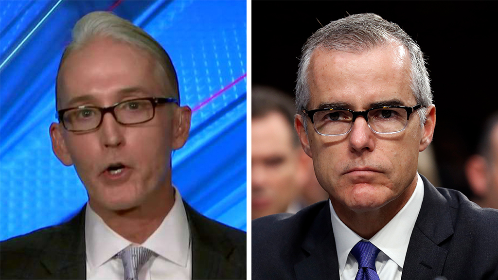 Gowdy calls DOJ's rejection of McCabe appeal a 'celebration of our justice system'