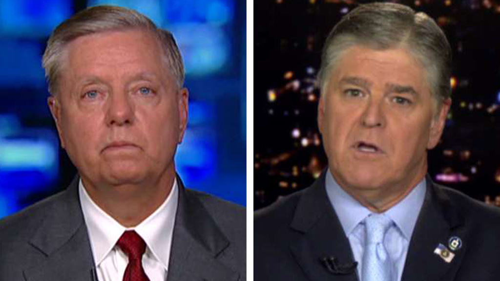 Westlake Legal Group Graham-Hannity_FOX Sen. Lindsey Graham: Senate Judiciary Committee will call DOJ inspector general to testify on FISA fox-news/shows/hannity fox-news/person/lindsey-graham fox-news/person/donald-trump fox-news/news-events/russia-investigation fox-news/media/fox-news-flash fox news fnc/media fnc Charles Creitz article 685ed7d2-9002-5052-a997-1effbbbbf34b