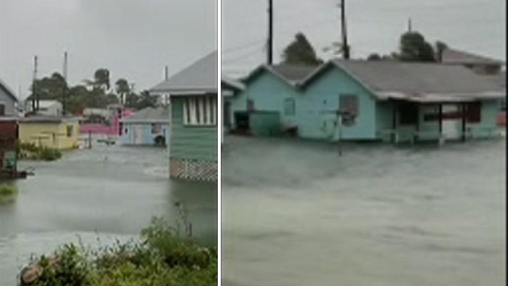 Hurricane Dorian strikes Bahamas: Homes severely damaged, cars overturned, power lines down