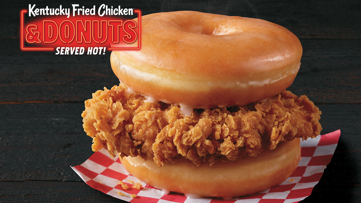 Kentucky Fried Chicken and Donut Sandwich is the craziest chicken sandwich of 2019