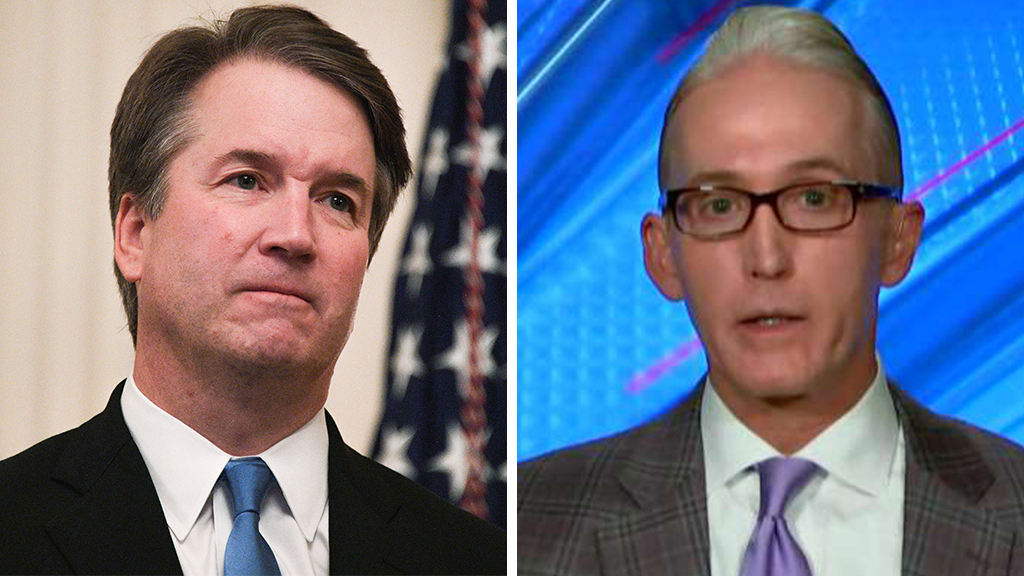 Trey Gowdy hammers Dems for wanting to give Kavanaugh the 'political death penalty'