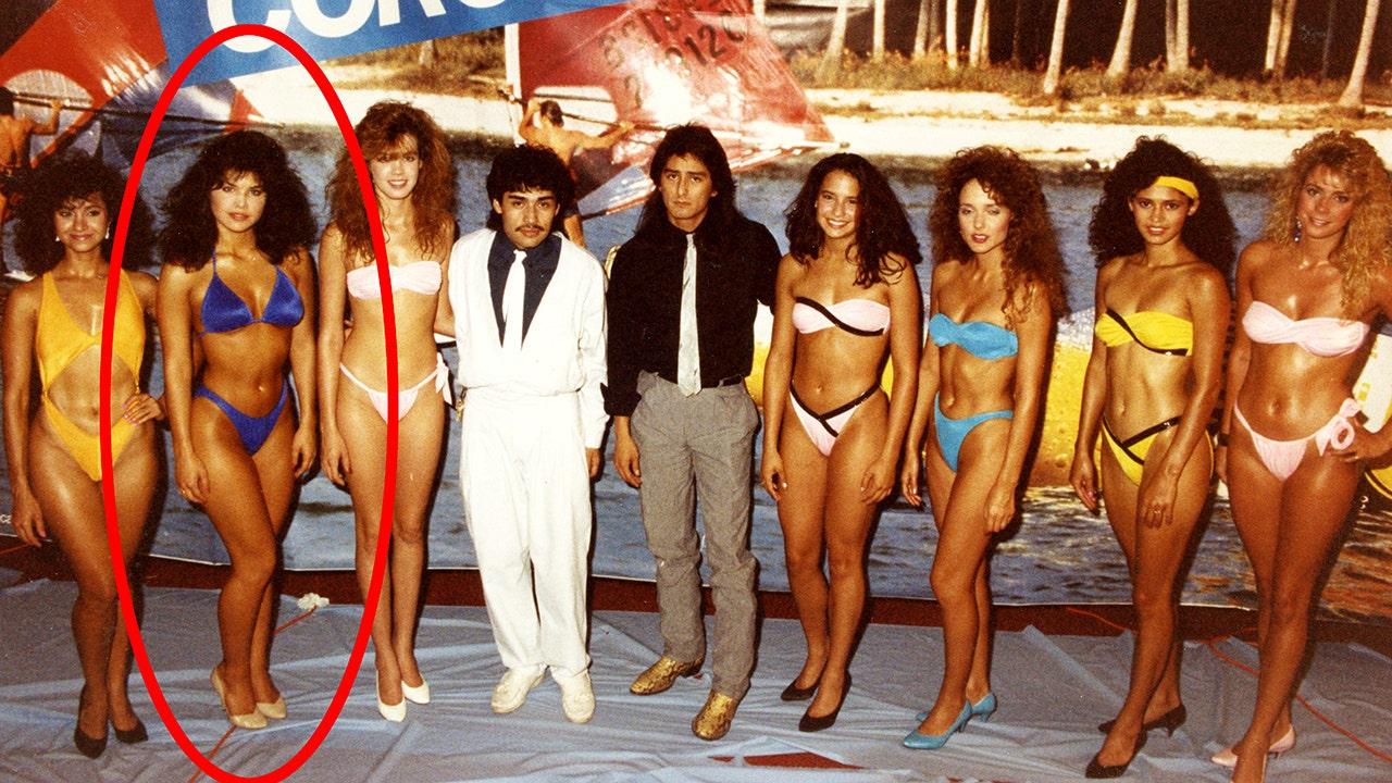 Jeff Bezos' girlfriend Lauren Sanchez stuns in unearthed 1980s bikini pageant photos