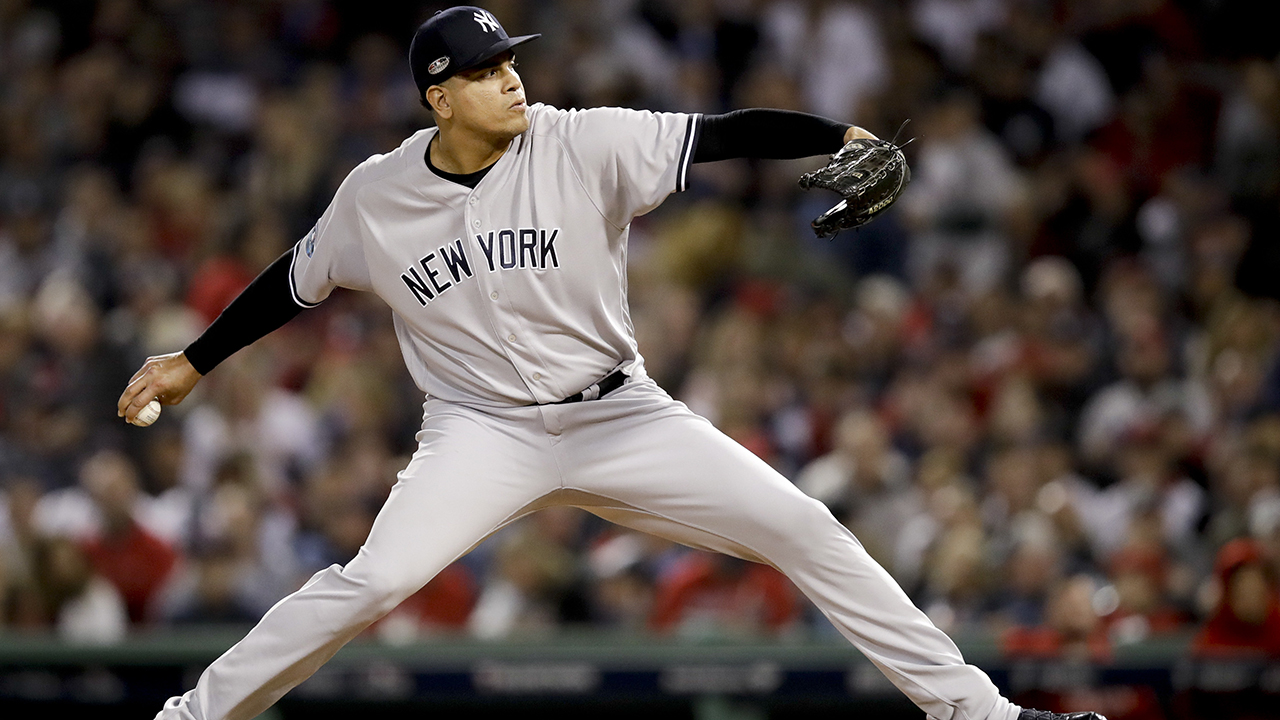 Dellin Betances tore Achilles in return to Yankees