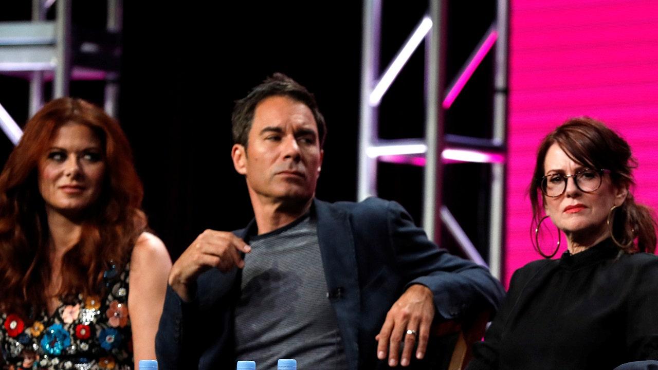 'Will & Grace' star Eric McCormack addresses 'crazy' rumors of alleged Debra Messing, Megan Mullally feud