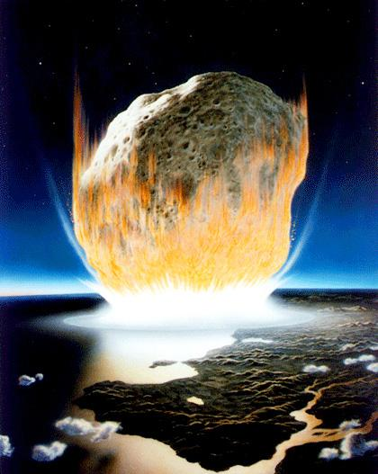 The day the dinosaurs died: Asteroid impact site reveals devastation from power of 10 billion A-bombs