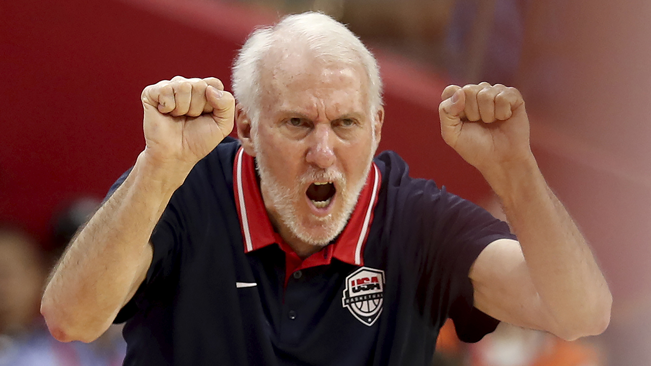 Gregg Popovich greets Serbia's coach with sobering words: 'We are a couple of f-----g losers'