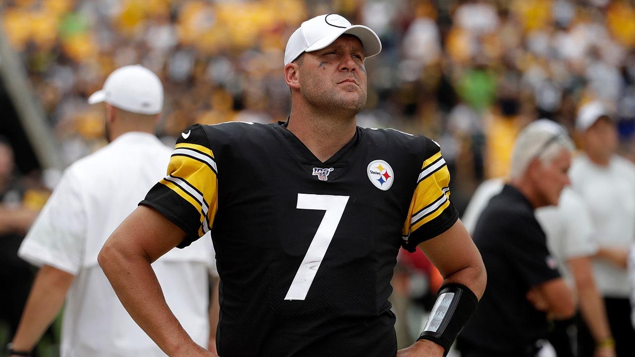 Pittsburgh Steelers' Ben Roethlisberger schockt mit seltsamen Auftritt in der video-Warnung vor coronavirus