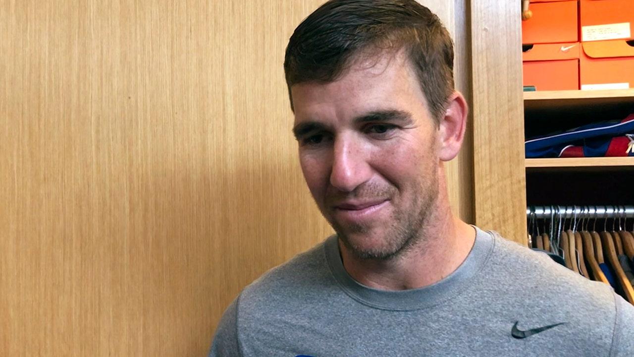 Eli Manning's 'simple' advice to Daniel Jones as he takes reins as New York Giants quarterback