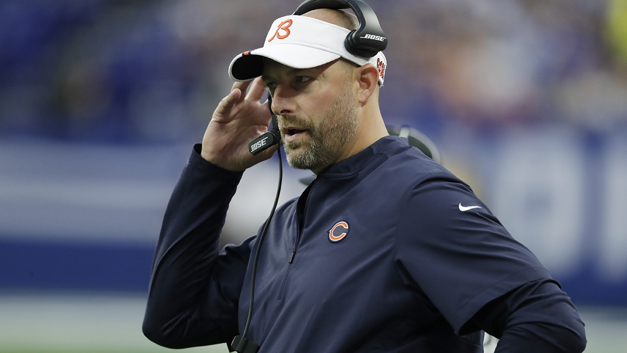 Bears coach Matt Nagy says protest OK if team demonstrates it will be done