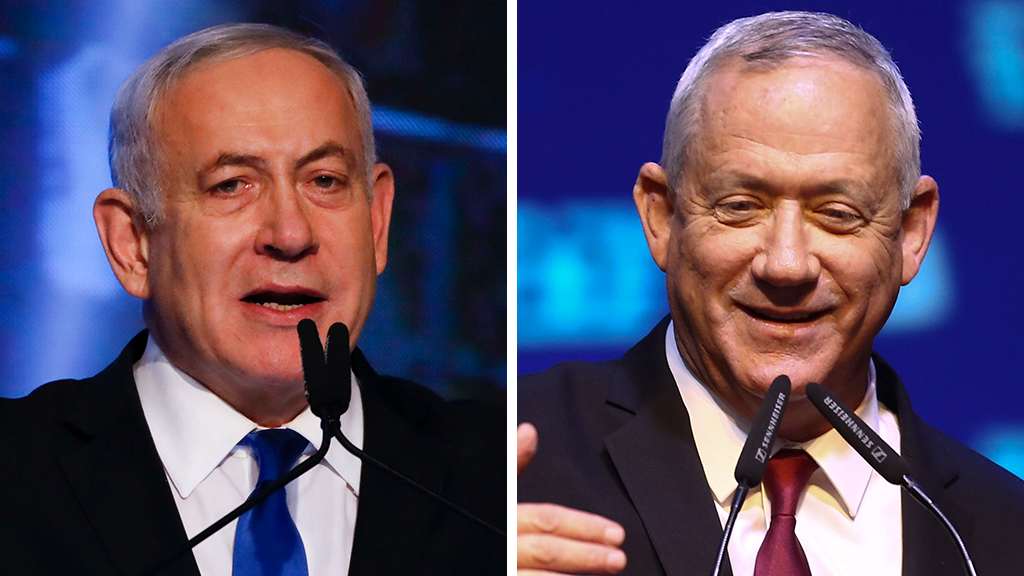 Netanyahu cancels UN trip, forgoes meeting with Trump after failing to secure an outright victory in nation...