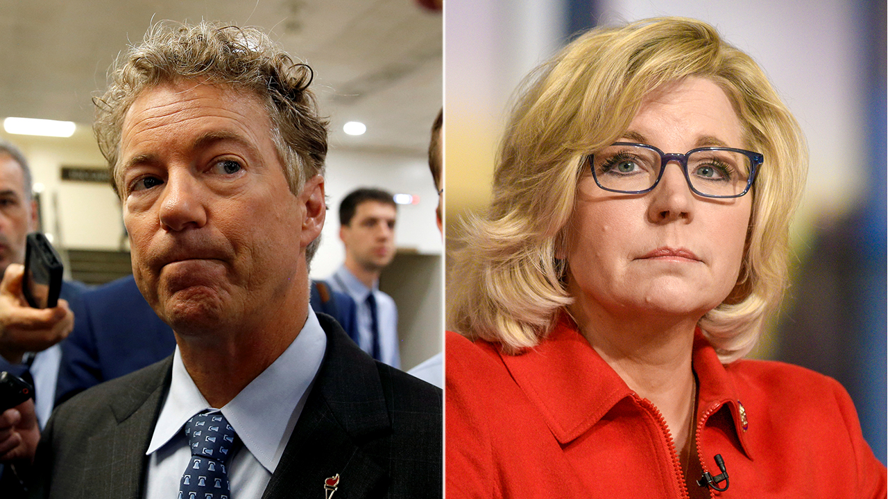 Westlake Legal Group Paul-Cheney Liz Cheney accuses Rand Paul of putting terrorists 'first' after he says she's 'warmongering' Sam Dorman fox-news/politics/house-of-representatives/republicans fox-news/politics/executive/white-house fox-news/person/rand-paul fox-news/person/donald-trump fox news fnc/politics fnc article 1bb8bb98-e773-567b-bd1f-364f9963d83e