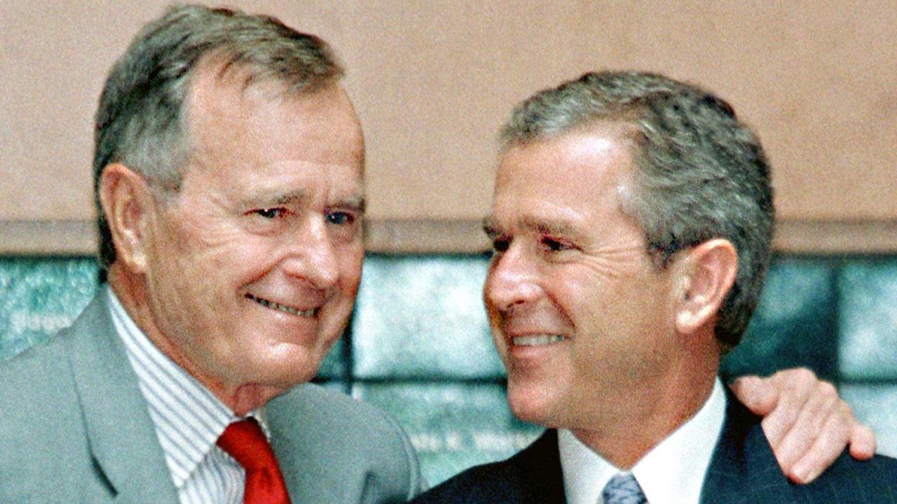Mattis praises G.H.W. Bush but not his son, George W. Bush