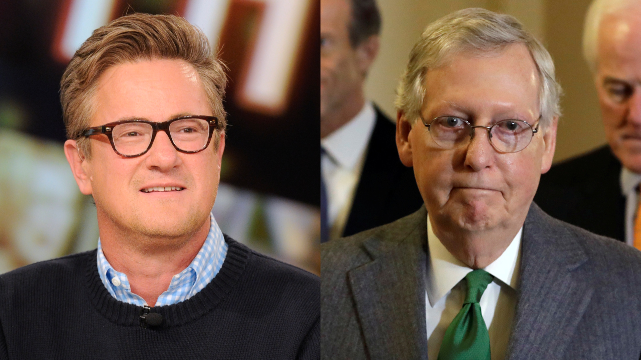 Westlake Legal Group Scarborough-McConnel Joe Scarborough slams Mitch McConnell on guns, says he has no interest in protecting Americans Nick Givas fox-news/shows/morning-joe fox-news/person/mitch-mcconnell fox-news/person/joe-scarborough fox-news/media fox news fnc/media fnc article abff8a07-9777-595b-9876-1453460e0b87
