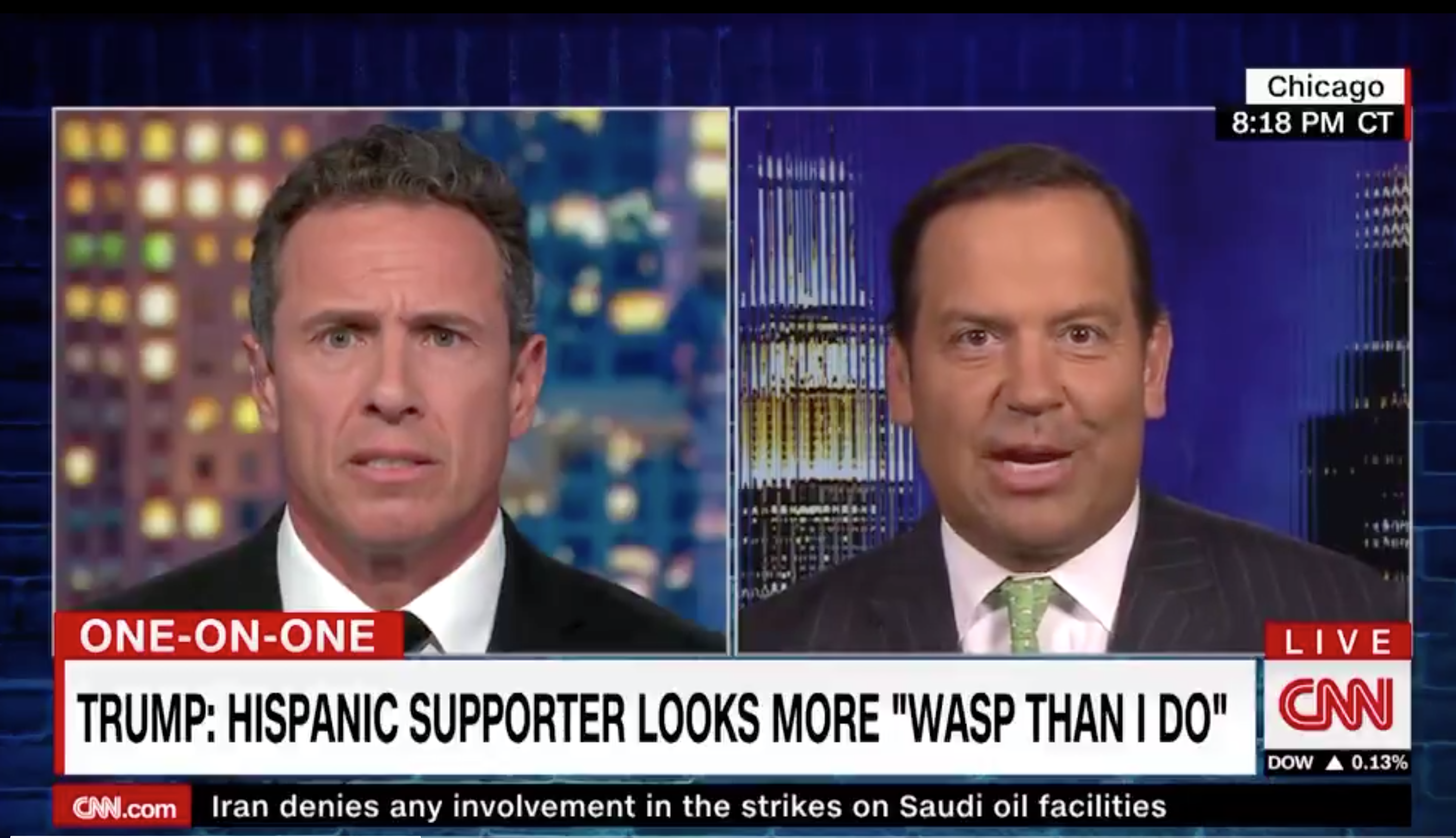CNN contributor accuses Chris Cuomo of spreading 'fake news' about Trump in heated clash thumbnail