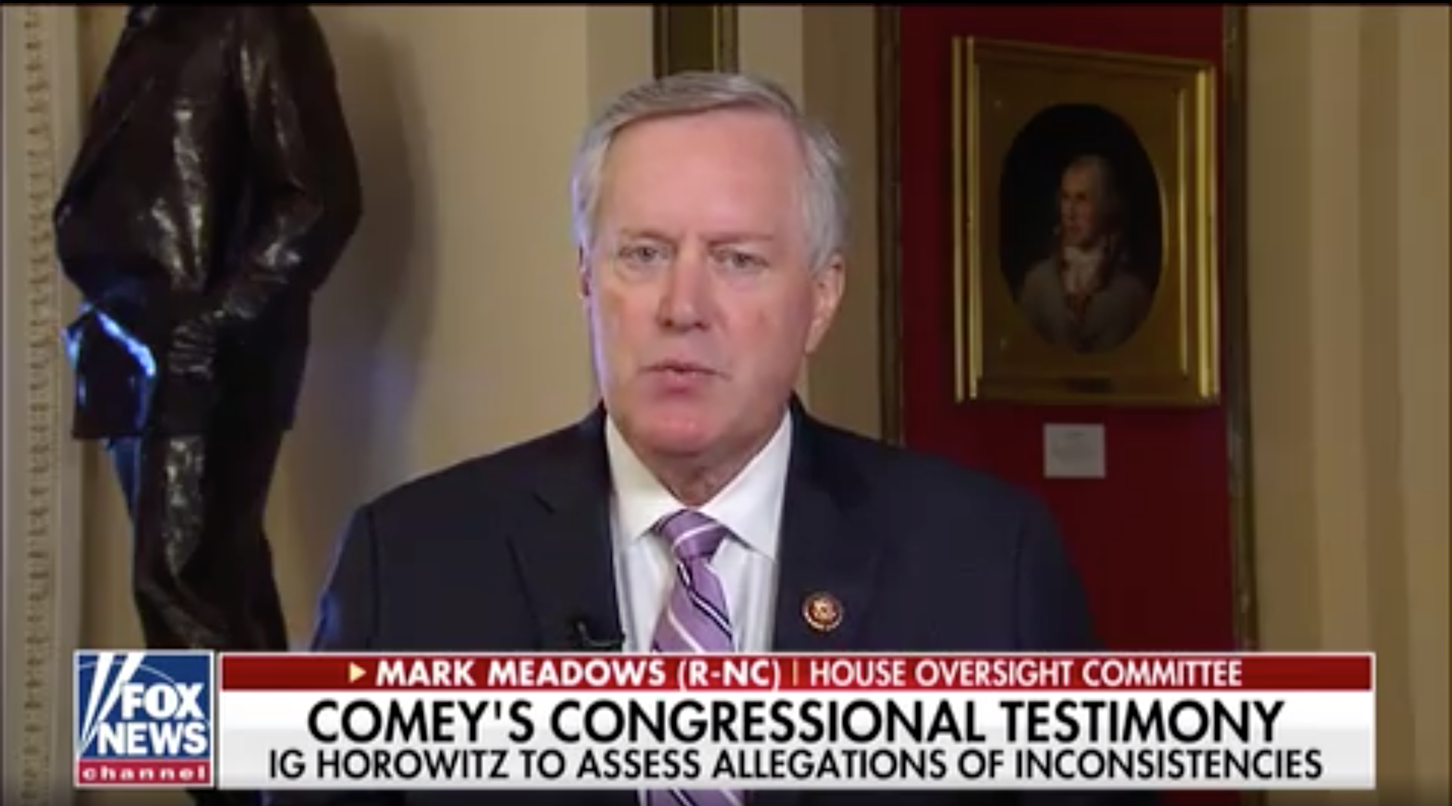 Rep. Meadows on upcoming IG report: 'James Comey's problems are just now starting'