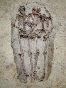 Mysterious ancient skeleton 'lovers' are male, experts reveal