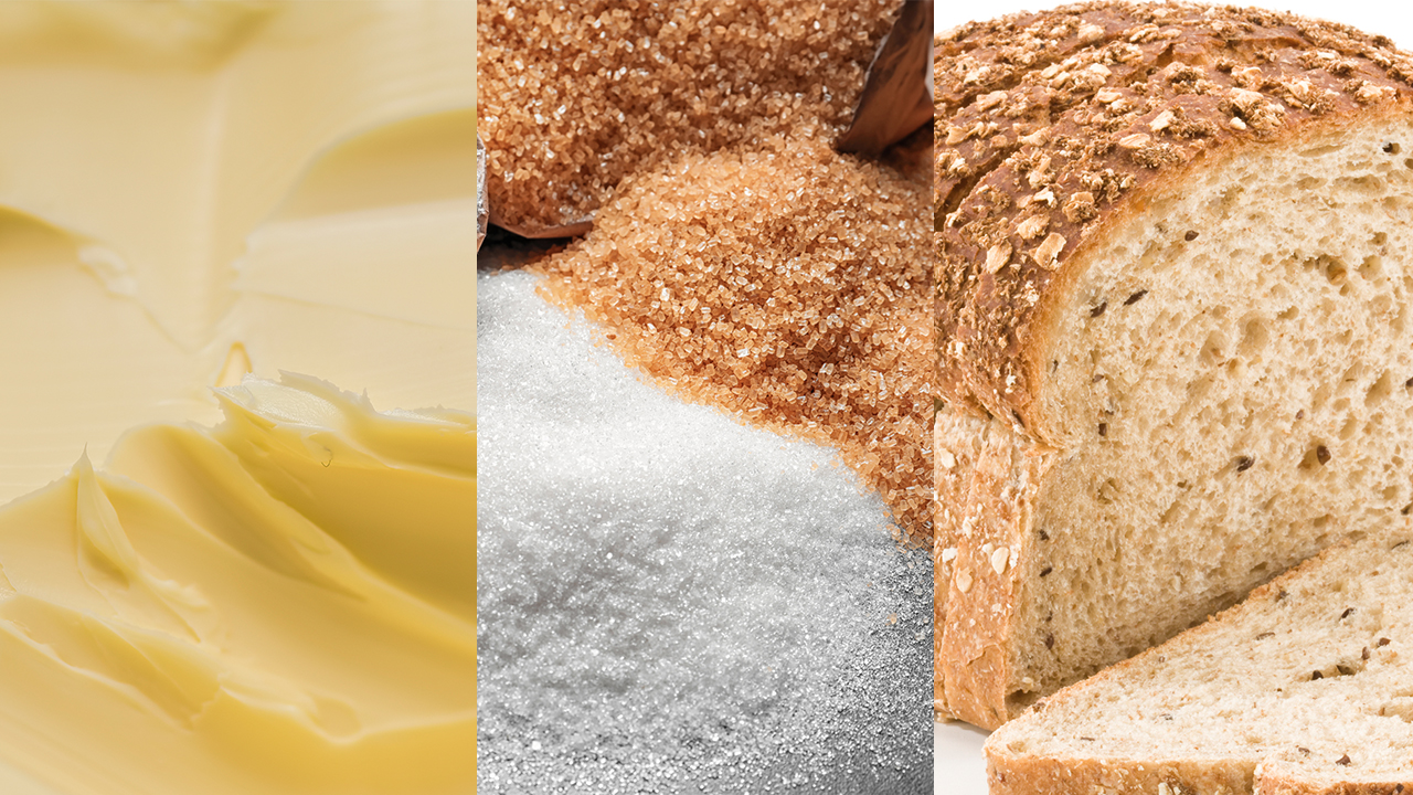 Too much butter, sugar, white bread: Study says US diets still lacking in healthy foods