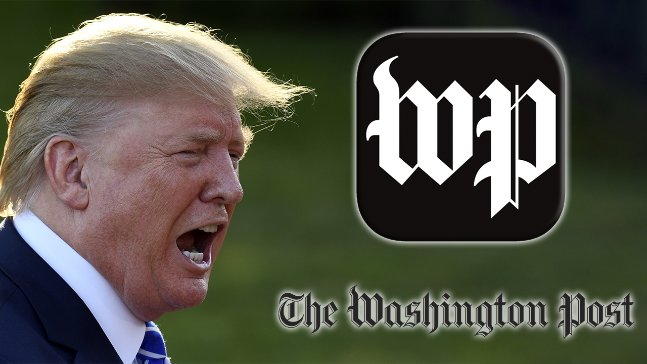 Westlake Legal Group Trump-WP White House releases video blasting Washington Post after outlet criticized Trump Sam Dorman fox-news/politics/executive/white-house fox-news/person/donald-trump fox-news/media fox news fnc/media fnc article 4e173154-e903-585f-ab14-2b112f4f0be5
