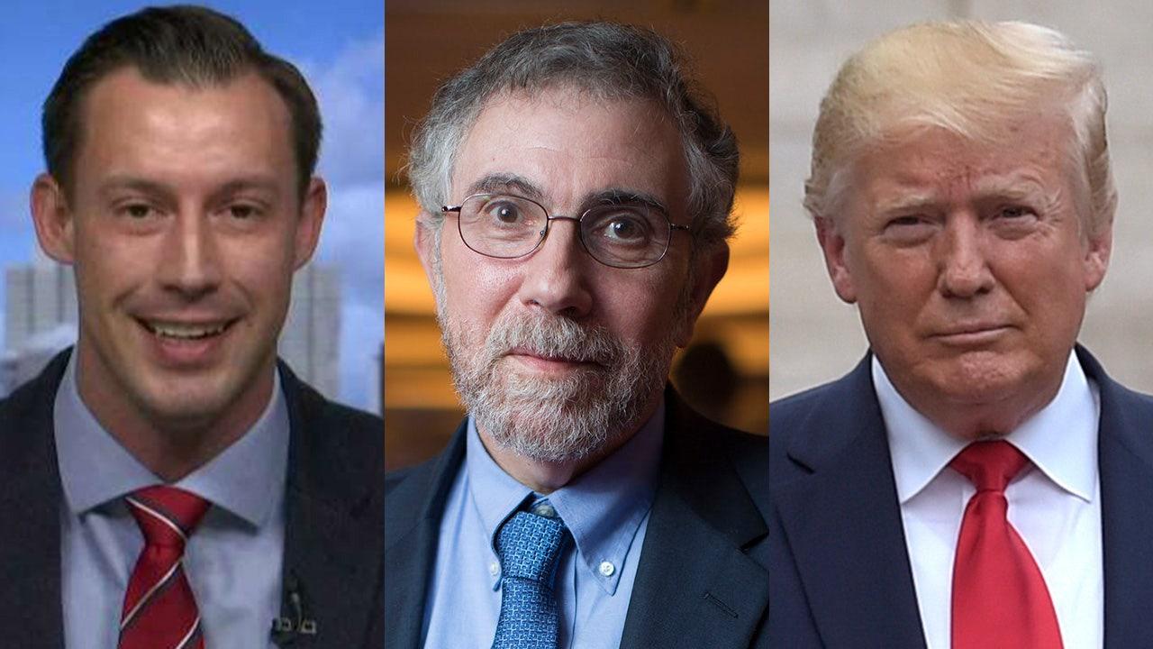 Joey Jones blasts Paul Krugman's New York Times column calling Republicans 'pretend' patriots