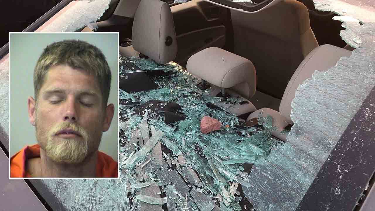Florida man says he smashed car windows because 'Trump owes me 1 trillion dollars'