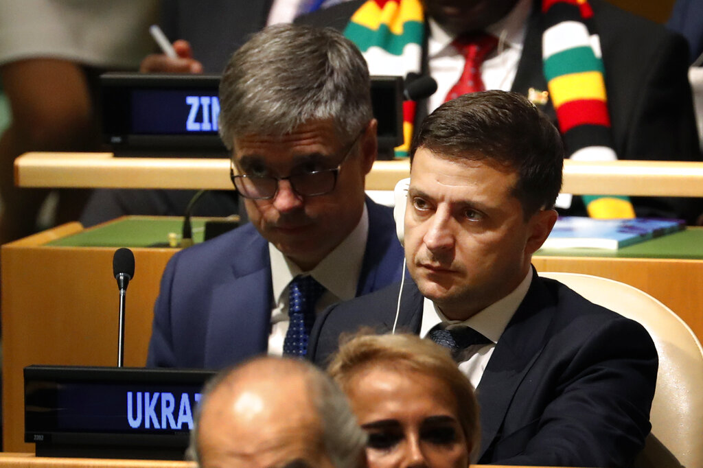 Westlake Legal Group Zelensky092519 Ukraine president says 'no blackmail' in phone call with Trump Greg Wilson fox-news/world/conflicts/ukraine fox-news/politics/trump-impeachment-inquiry fox-news/politics/elections/house-of-representatives fox-news/politics fox-news/person/donald-trump fox news fnc/politics fnc e3d4571e-77c0-5e79-beb5-396456e3f0b1 article