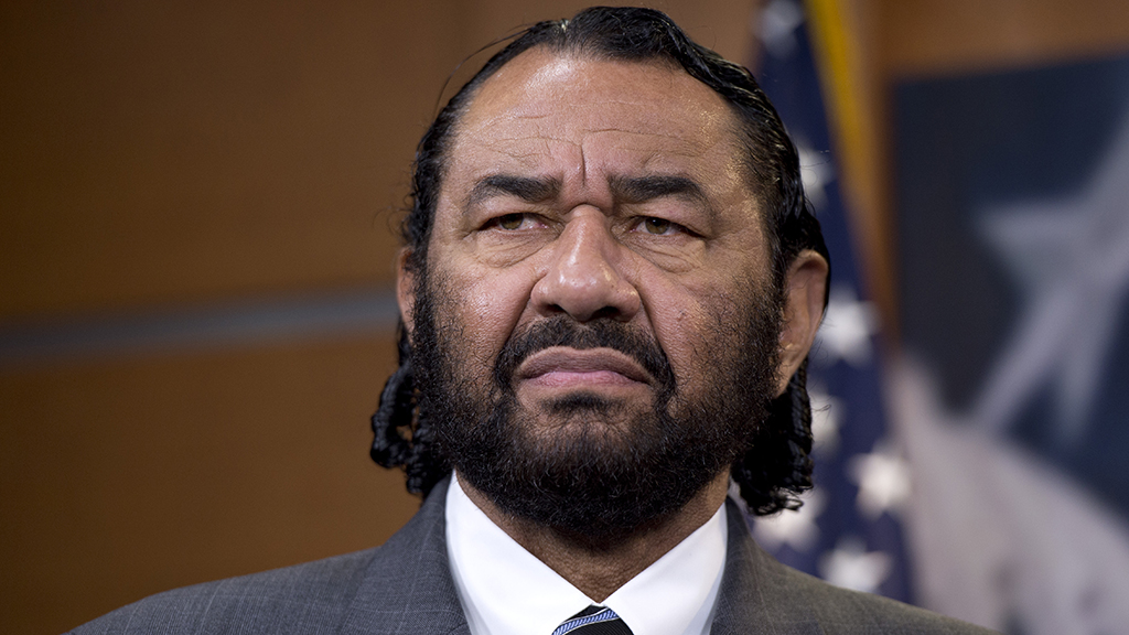 Rep. Al Green welcomes Pelosi on board impeachment push, says he was 'lonely voice for a long time'
