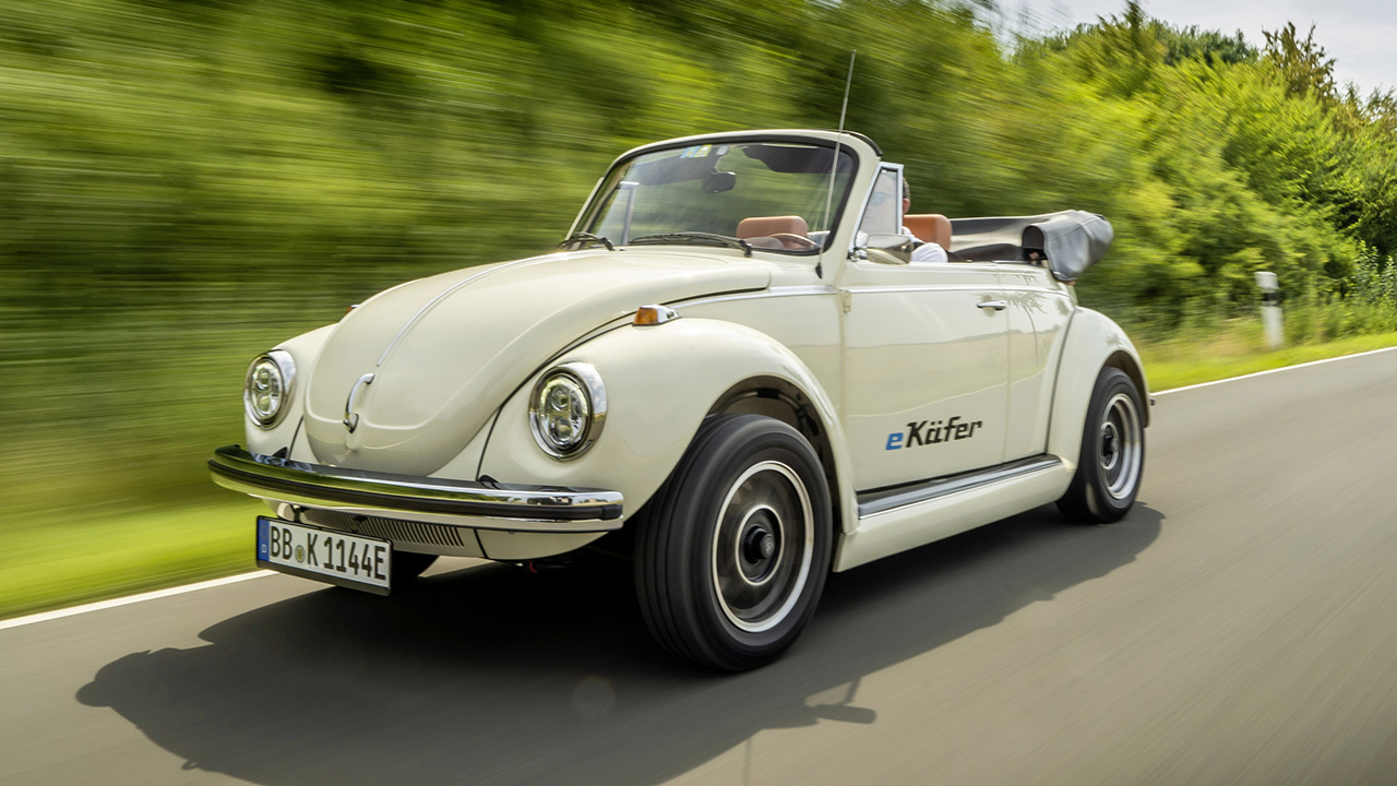 The Volkswagen Beetle will return with battery power