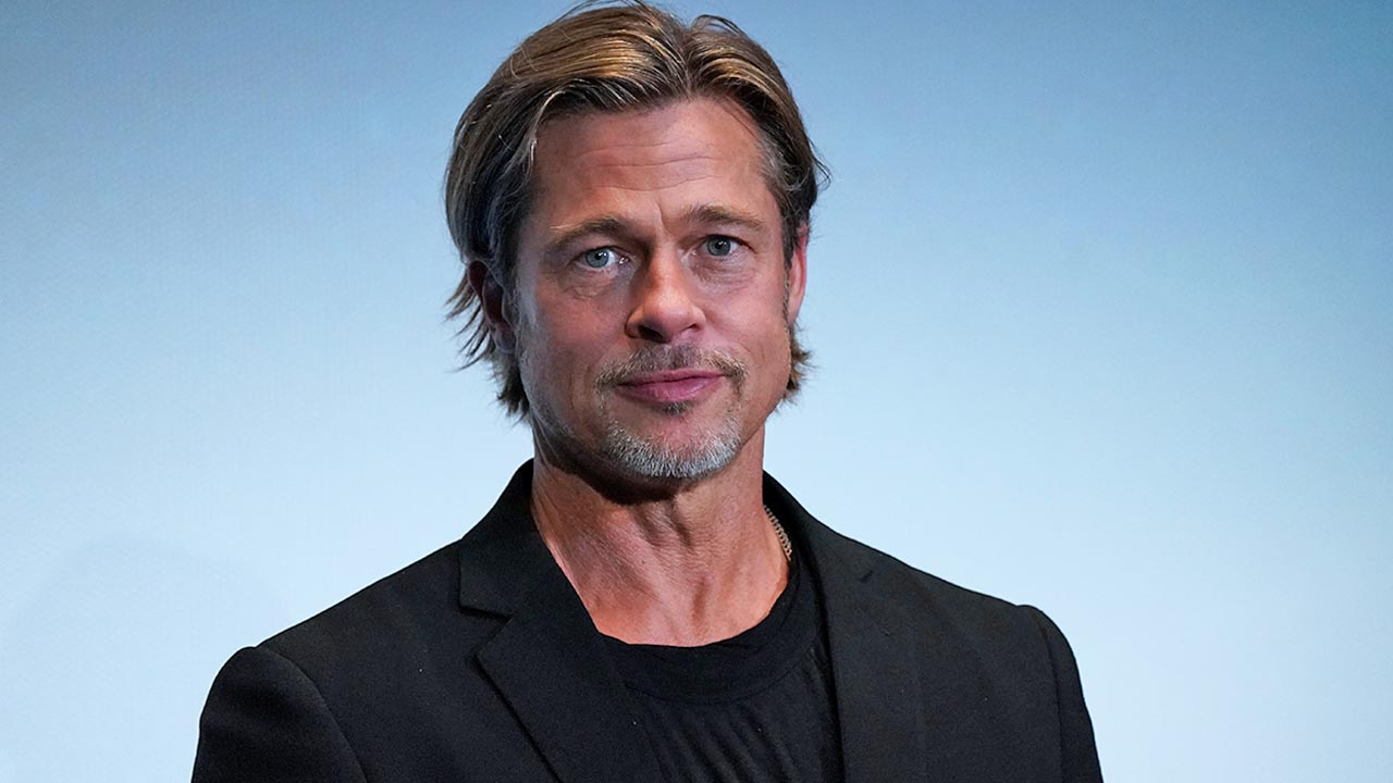 Brad Pitt jokes he has a 'disaster of a personal life,' calls himself 'trash mag fodder'